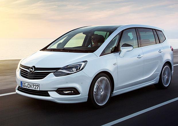 Facelift Opelu Zafira oficiálně: Klidnější příď (+video)
