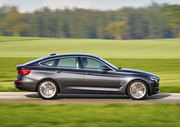 Facelift BMW 3 GT znamená jemné retuše vzhledu a nové motory