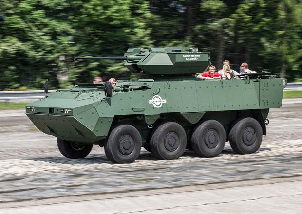 Tatra Defence Vehicle vyrábí pandury, vyvíjí jejich nové varianty