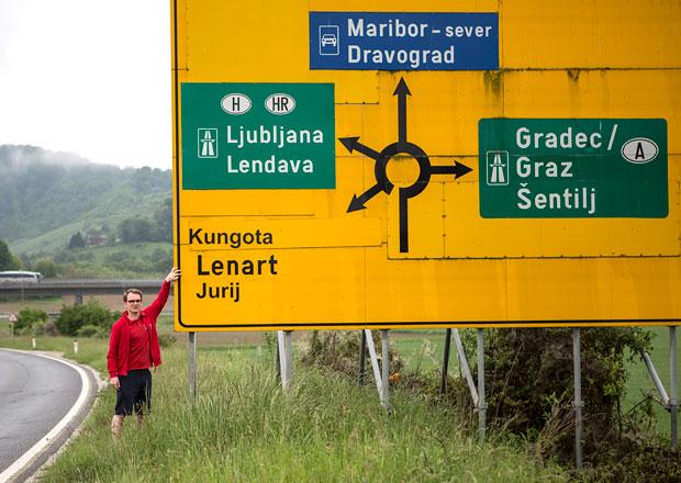 Slovinsko: Na Maribor bez dálniční známky - Přes hory, přes doly