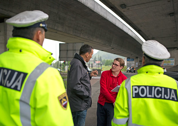 Rozhovor se slovinským policistou: Počítejte s obtížemi