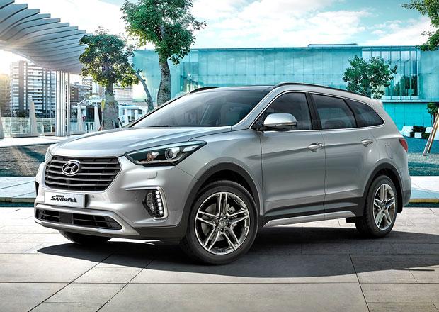 Hyundai Grand Santa Fe: Po modernizaci na českém trhu od 1,18 milionu korun
