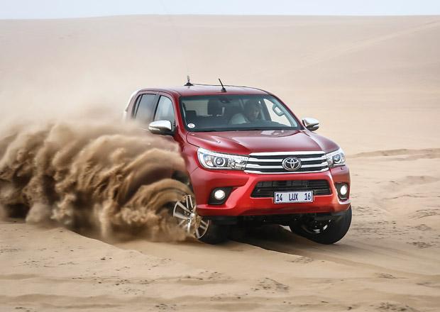 Toyota Hilux 8. generace: Prvn� j�zdn� dojmy z Namibie