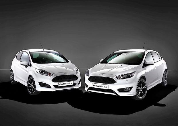 Ford Fiesta a Focus ST-Line: Klasici ve sportovním dorazili do Česka. Přibude i Mondeo!