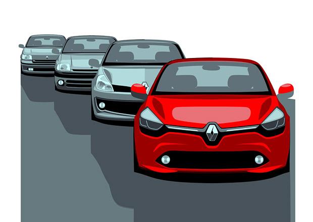 Renault chystá modernizaci clia, zatím připomíná jeho předchůdce