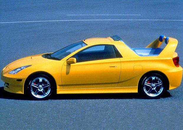 Toyota Celica jako pick-up: Před 17 lety přímo z továrny