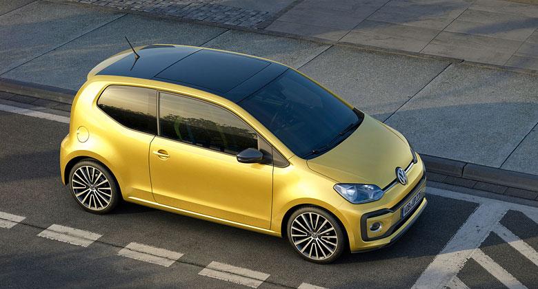 Volkswagen za�al v Bratislav� vyr�b�t modernizovan� model up!