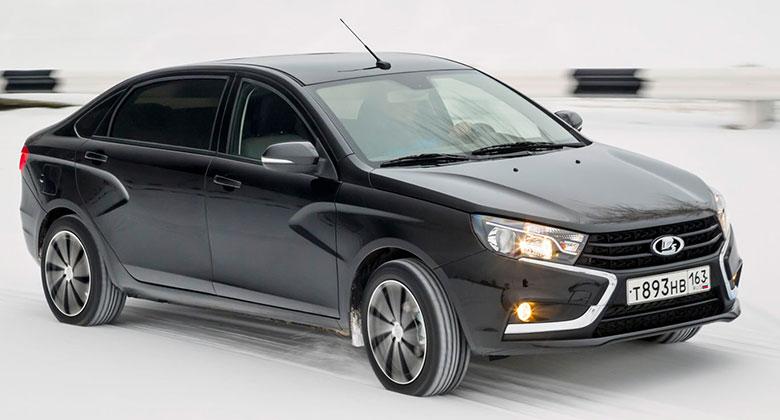 Lada Vesta Signature: Nata�en� sedan realitou, vyzkou�� jej ru�t� ��edn�ci