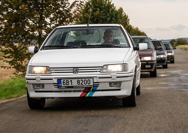 Za volantem Peugeotu 405 T16: Jeden z 1046 kusů