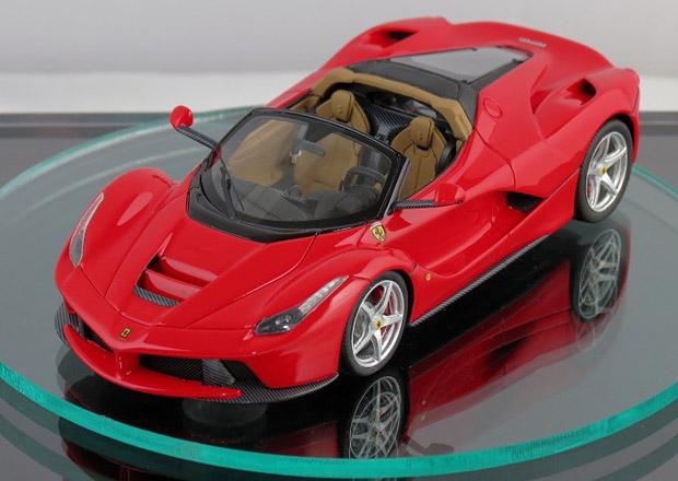 Ferrari LaFerrari Spider odhaleno díky zmenšenému modelu