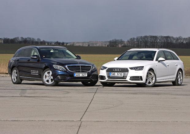 Audi A4 Avant vs. Mercedes-Benz C kombi – První liga
