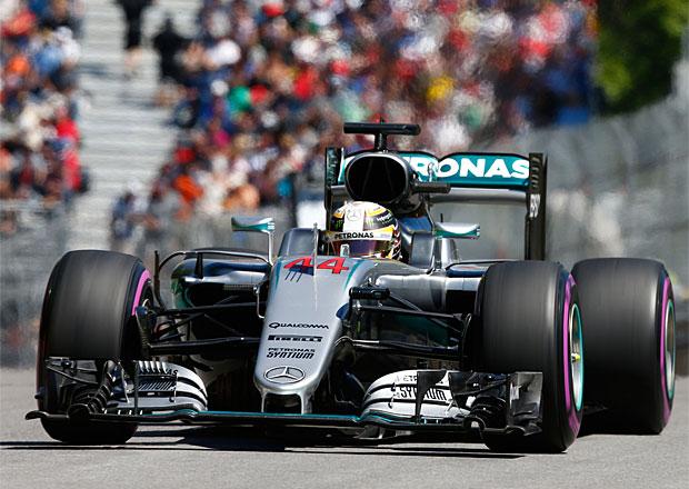 Kvalifikace VC Kanady F1 2016: Konkurence na Mercedes nestačila