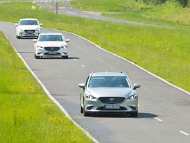 Mazda G-Vectoring: Um�n� p�en�et v�hu