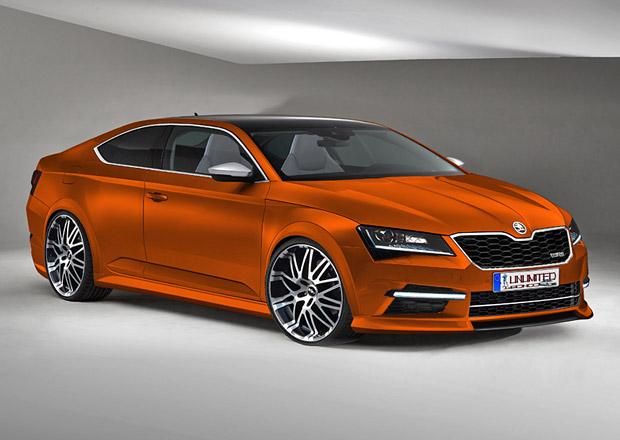 Škoda Tudor: Superb kupé od nezávislých grafiků