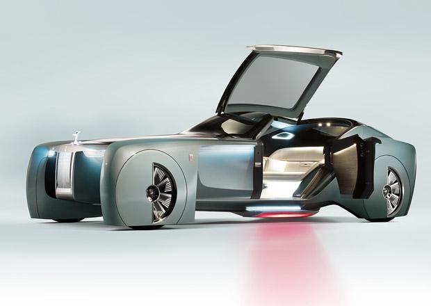 Rolls-Royce Vision Next 100: Budoucí vozy z Goodwoodu budou ošklivé