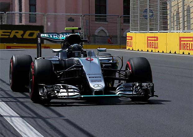 Kvalifikace VC Evropy F1 2016: Rosberg nejrychlejší, Hamilton havaroval
