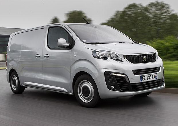 První jízdní dojmy: Peugeot Expert a Citroën Jumpy
