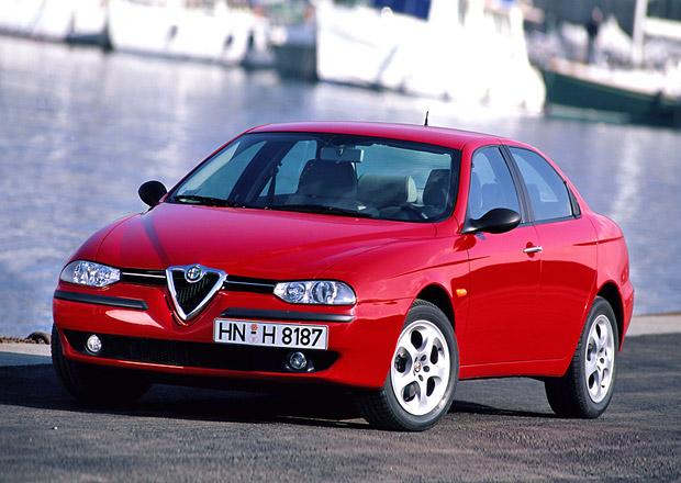 Evropské Automobily roku: Alfa Romeo 156 (1998)