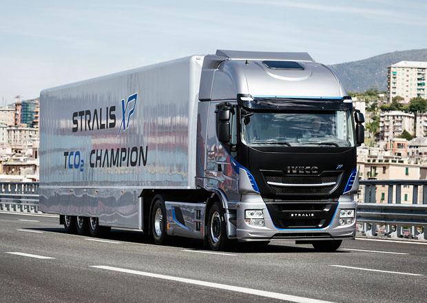 Iveco New Stralis XP snižuje provozní náklady i emise CO<sub>2</sub>