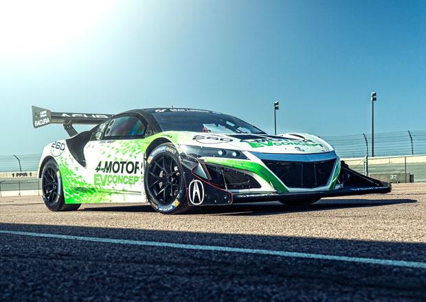 Acura 4-Motor EV Concept: Speciální NSX se čtyřmi elektromotory pro Pikes Peak