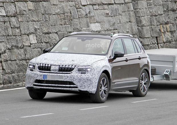 Spy photo: Bude nový yeti jen VW Tiguan s jinou přídí?