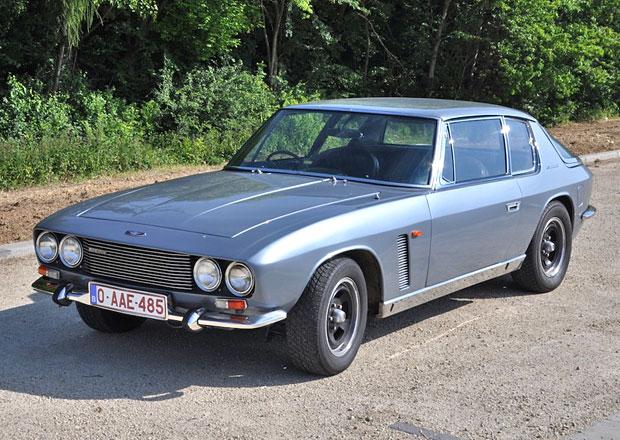 Jensen Interceptor: Britské GT z roku 1968  na prodej za 1,5 milionu korun