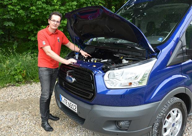Ford Transit EcoBlue: Místo pumy přichází panter