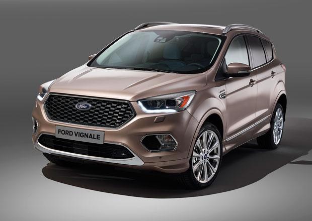 Ford Kuga Vignale: Luxusn� SUV se p�edstavuje v s�riov� verzi