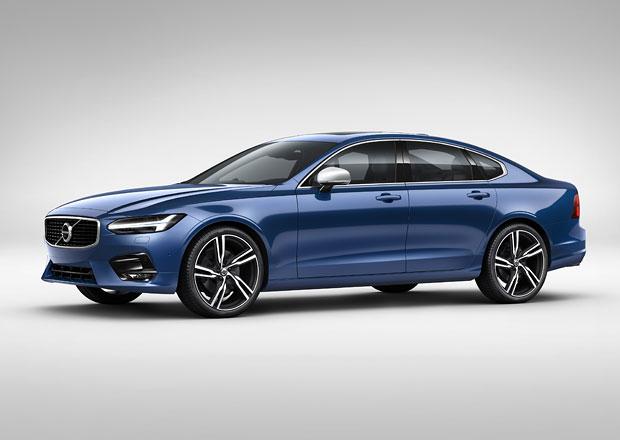 Volvo S/V90 R-Design: I novinka z�skala kapku sportovn�ho stylu