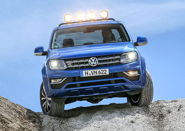 Volkswagen Amarok V6: Práce s noblesou
