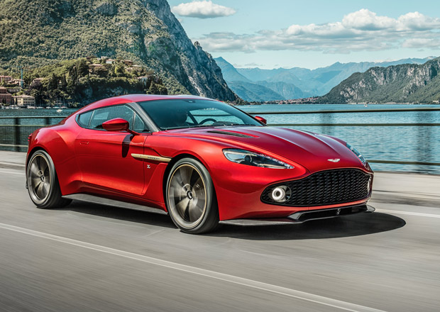 Aston Martin Vanquish Zagato z�kazn�ky zaujal, m��� do v�roby