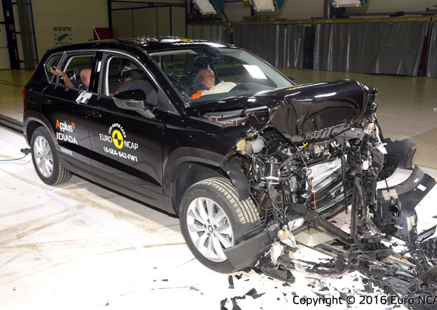 Euro NCAP 2016: Seat Ateca – Pět hvězd poprvé