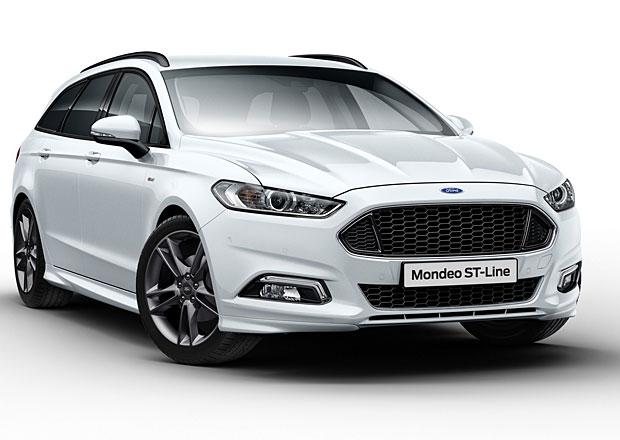 Ford Mondeo ST-Line představen v Goodwoodu