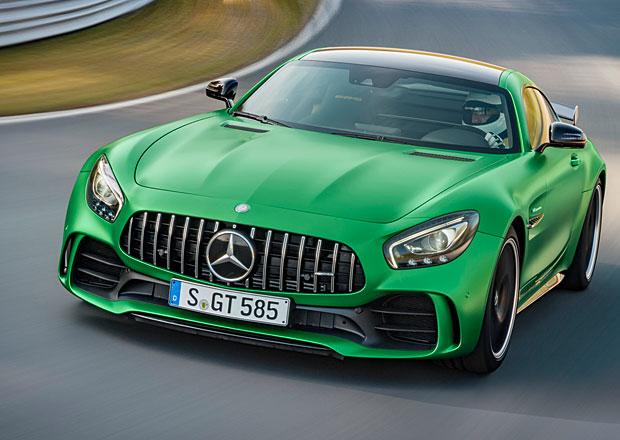 Mercedes-AMG GT R: Zelená bestie má 430 kW a umí 318 km/h (+video)