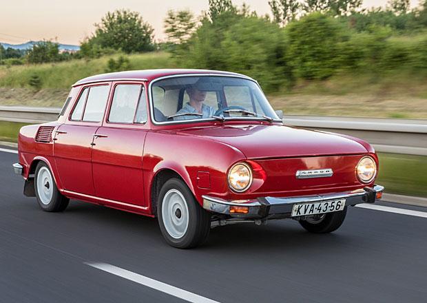 Škoda 100 s najetými 4175 km: Auto žilo v garáži!