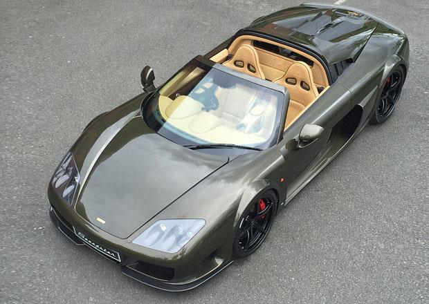 Noble M600 Speedster: Otevřený supersport z Albionu stojí 7,2 milionu korun