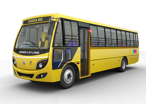 Ashok Leyland Sunshine: Novinka pro školáky