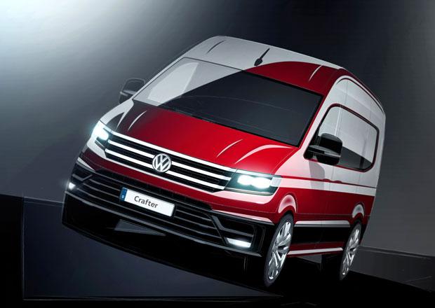 VW Crafter: Nová dodávka vlastního vývoje se začíná odhalovat