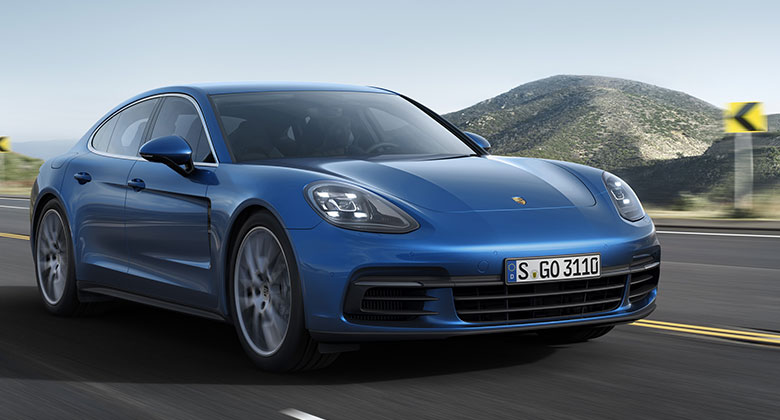 Porsche Panamera: Druh� generace fastbacku ofici�ln�