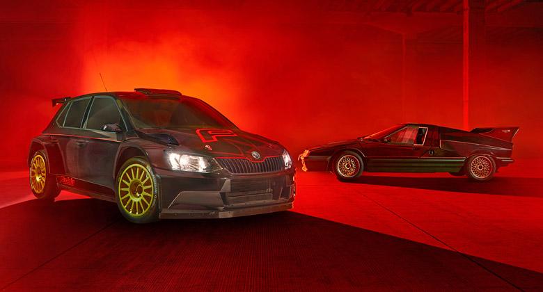 �koda Motorsport vzd� na Rally Bohemia hold kultovn�mu feratu