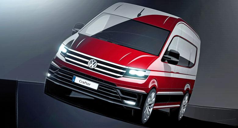 VW Crafter: Nov� dod�vka vlastn�ho v�voje se za��n� odhalovat