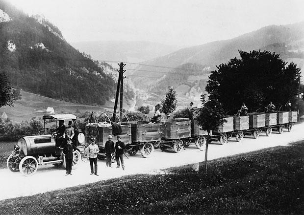 Autovlaky včera a dnes: Kouzlo přepravy