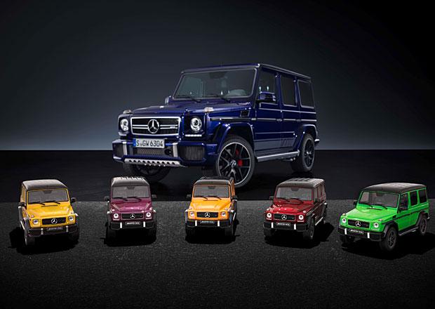 Mercedes-Benz G Crazy Color: AMG v ��len�ch barvi�k�ch jako model