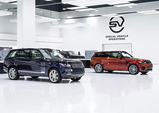 Jaguar Land Rover SVO m� nov� technick� centrum. Inspirovalo se Formul� 1