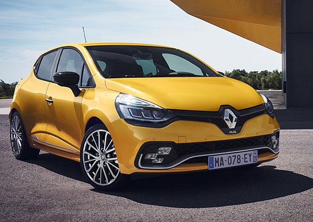 Modernizovaný Renault Clio R.S. nabízí chytré diody a výfuk Akrapovič