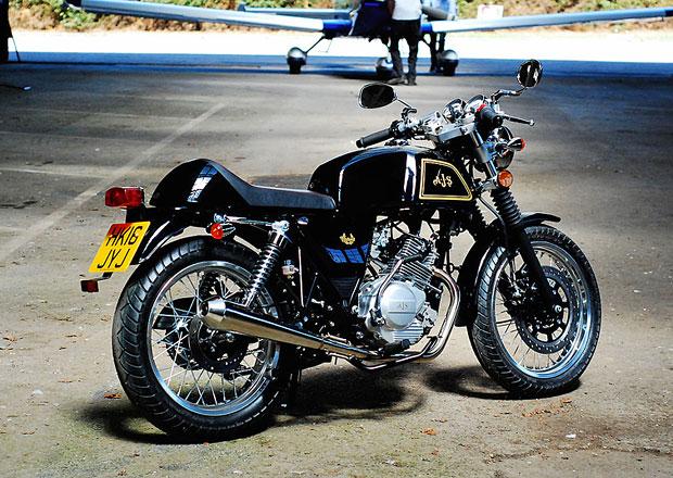 AJS Motorcycles představuje nový Cadwell 125