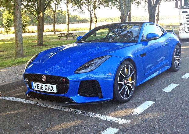 S Jaguarem F-Type SVR do Le Mans: Jak se jede se sporťákem napříč Evropou?
