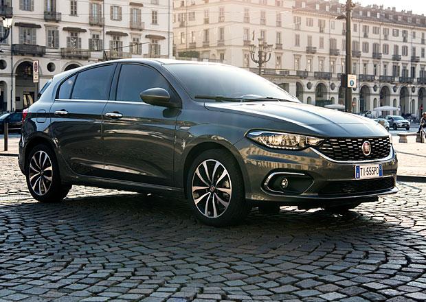 Fiat Tipo hatchback Opening Edition: Na českém trhu stojí nejméně 467.500 Kč
