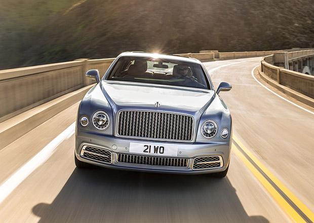 Bentley zva�uje luxusn�j�� model ne� je Mulsanne