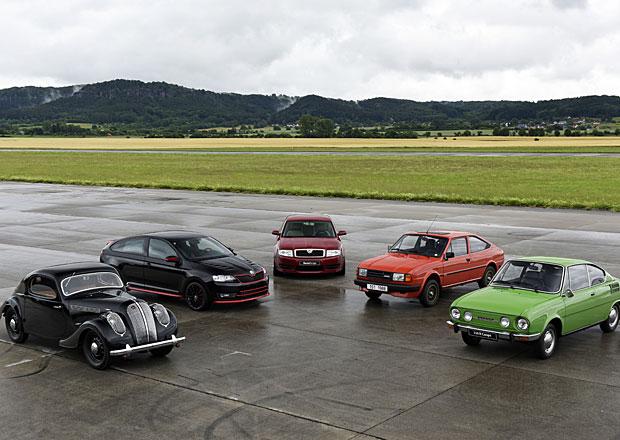 Vyzkoušeli jsme kupé Škoda posledních osmdesáti let. Tudy kráčí historie! (+video)